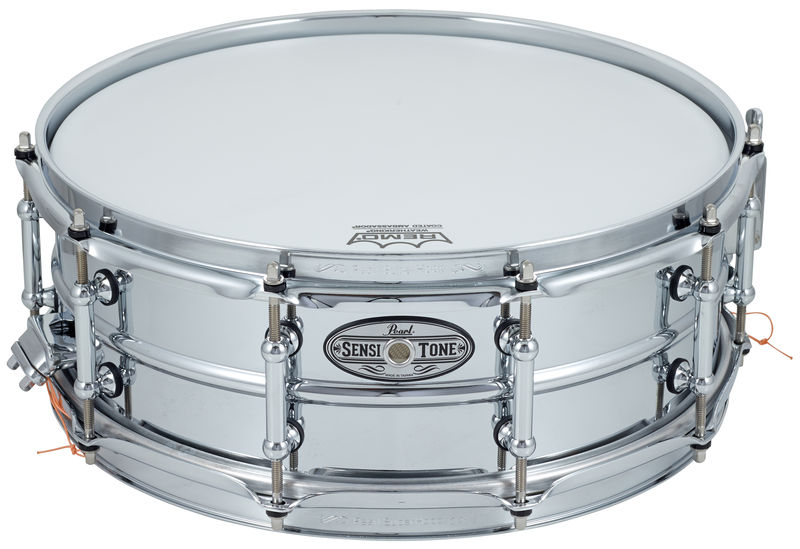 "Pearl 14""x05"" Sensitone Beaded Steel"