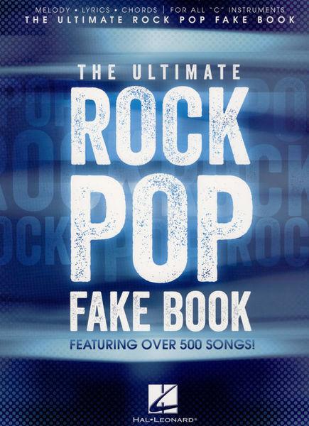 Ultimate Rock Pop Fake Book Hal Leonard