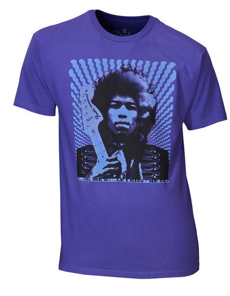 Fender T-Shirt Hendrix Kiss The XL