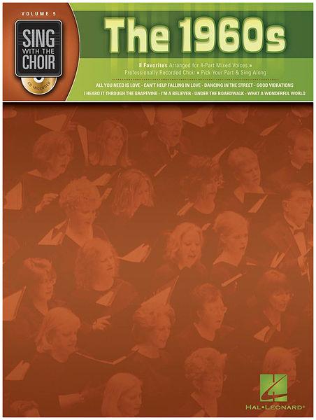 Hal Leonard Sing With The Choir The 1960s