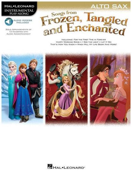 Hal Leonard Frozen Tangled A-Sax