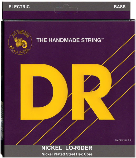 DR Strings Nickel Lo-Riders NMH5-45