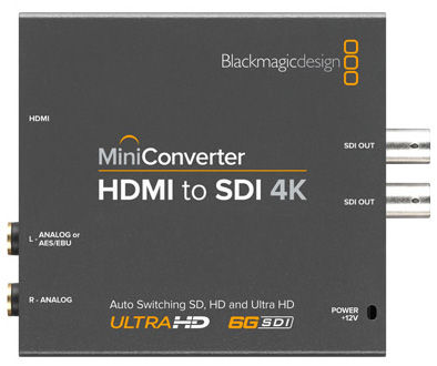 Blackmagic Design Mini Converter HDMI-SDI 4K