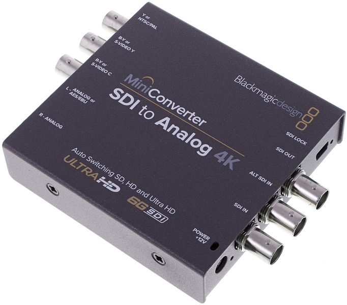 Blackmagic Design Mini Converter SDI-Analog 4K