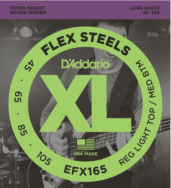 Daddario EFX165 Flex Steels