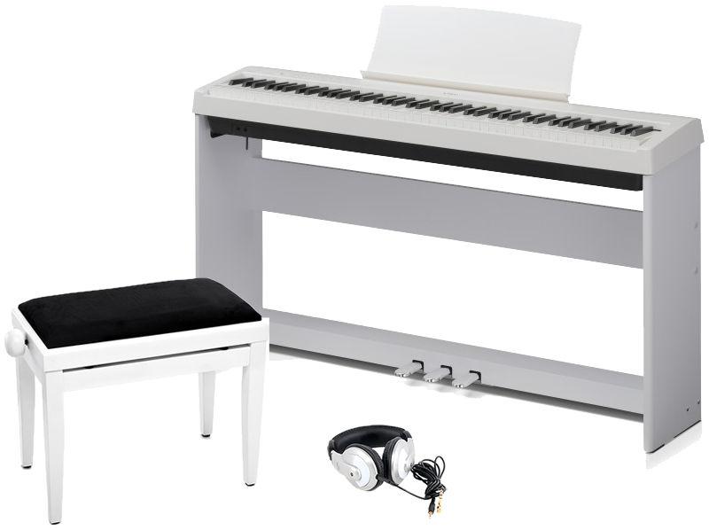 Kawai ES-100 W Deluxe Bundle
