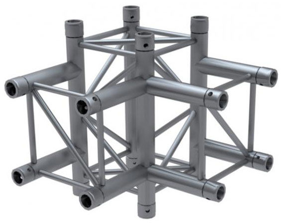 Global Truss F34T40PL 4-Way Corner 90°