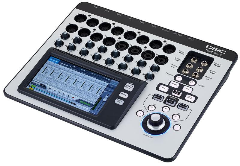 Qsc Touch Mix : qsc touchmix 16 thomann united states ~ Vivirlamusica.com Haus und Dekorationen
