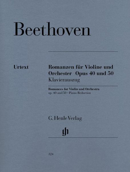 Henle Verlag Beethoven Romances Violin