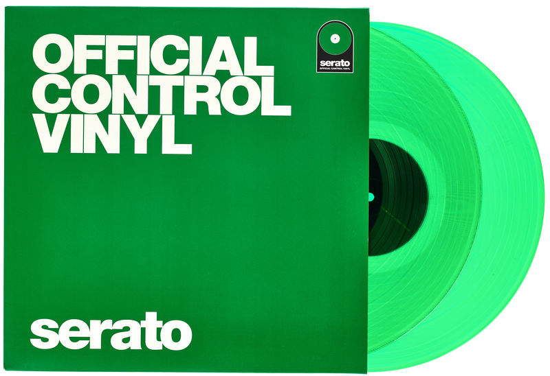 Serato Performance-Serie Vinyl Green