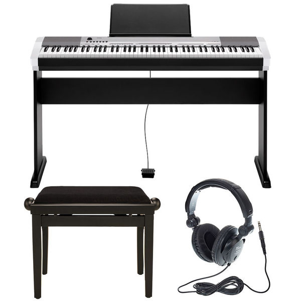 Casio CDP-130 SR Deluxe Bundle