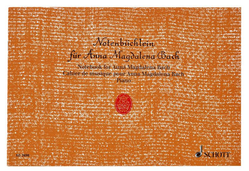 Schott Bach Notenbüchlein