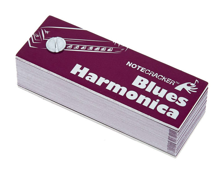 Music Sales Notecracker Blues Harmonica