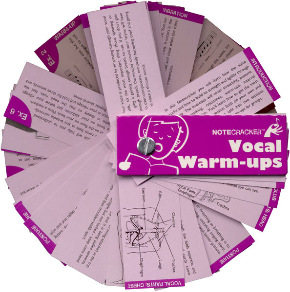 Wise Publications Notecracker Vocal Warm-Ups