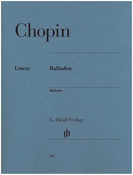 Henle Verlag Chopin Ballades