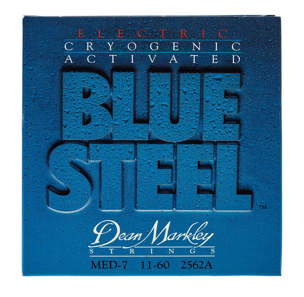 Dean Markley DM 2562 A Med 7STR Blue Steel