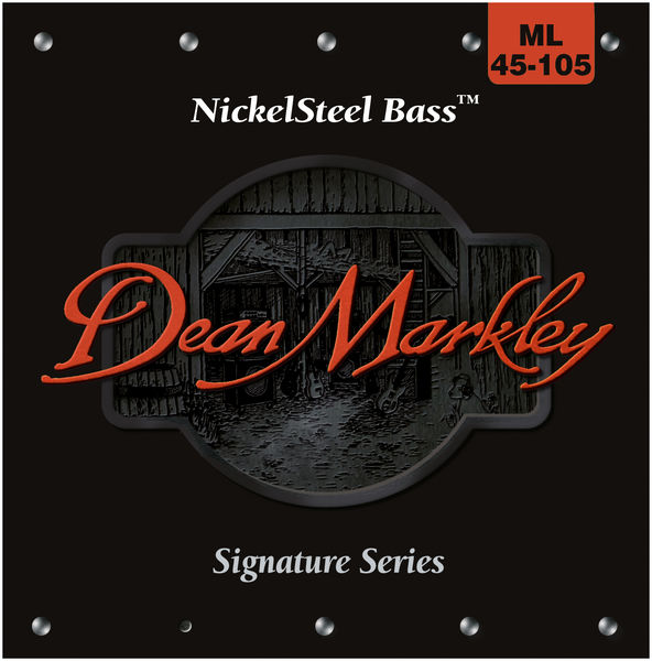 Dean Markley Nickel Steel ML Bass 45-105