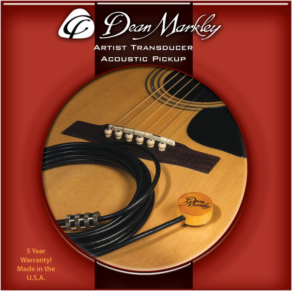 Dean Markley Artist Transducer Pickup