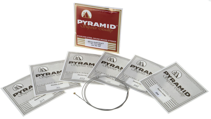 Pyramid Electric Guitar Drop D