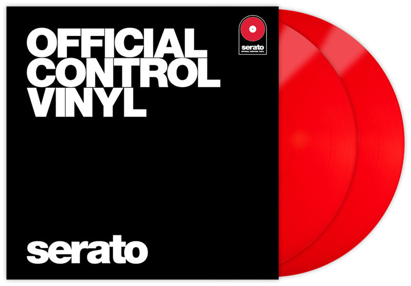 Serato Performance-Series Vinyl red