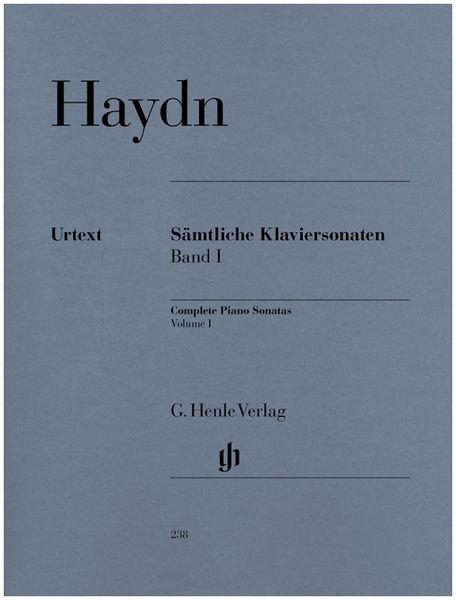Henle Verlag Haydn Complete Piano Sonatas 1