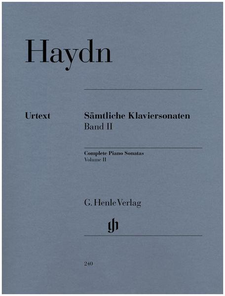 Henle Verlag Haydn Complete Piano Sonatas 2