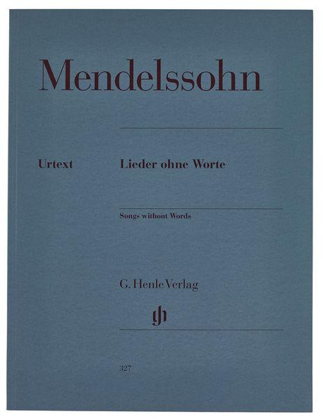 Henle Verlag Mendelssohn Lieder Ohne Worte