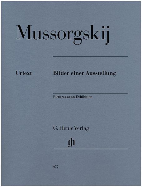 Henle Verlag Mussorgskij Pictures Bilder