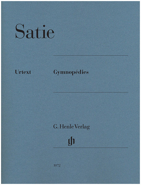 Henle Verlag Satie Gymnopedies