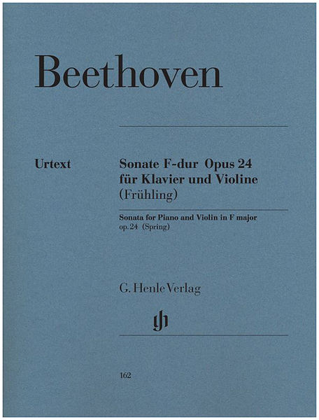 Henle Verlag Beethoven Violin Sonata Op.24