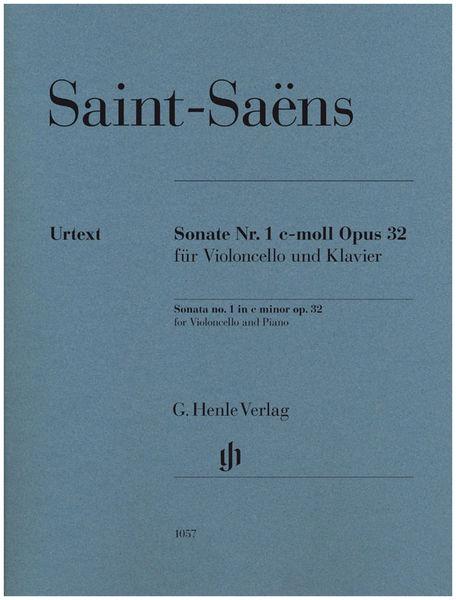 Henle Verlag Saint-Saëns Cello Concerto 1