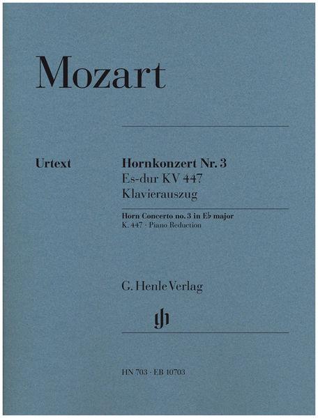 Henle Verlag Mozart Horn Concerto No.3