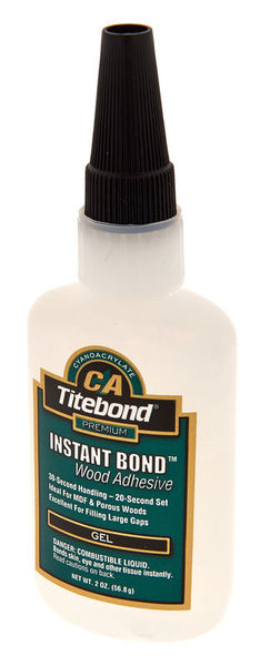 Titebond Glue 623/1 Sekunden-Kleber Gel 57g