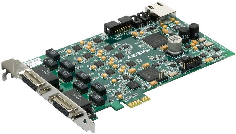 Lynx Studio AES-16e50 PCIe Card