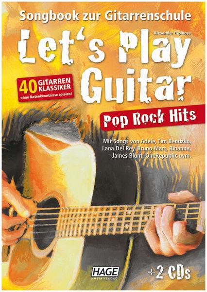 Let's Play Guitar Pop Rock Hit Hage Musikverlag