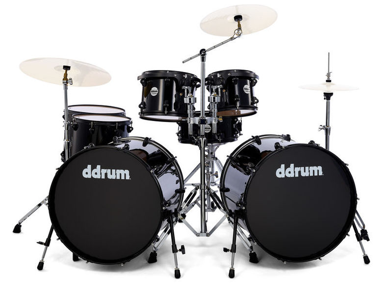 Journeyman Double Down Kit -BK DDrum