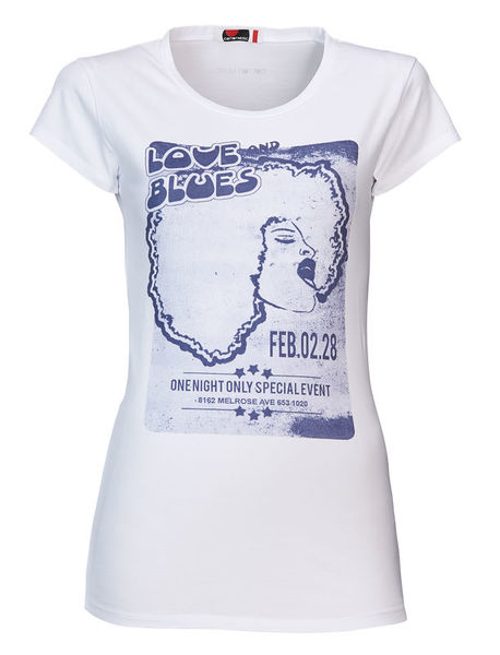 Cotton Music Blues Lady T-Shirt L