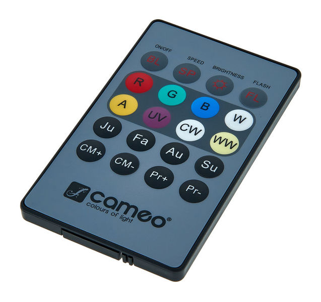 Cameo Flat PAR Can Remote