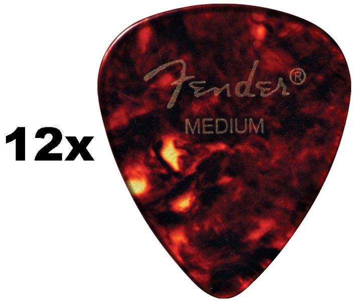 Fender 451 Shell Picks Medium Set