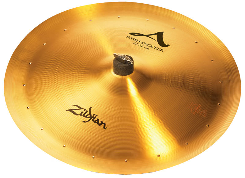 "Zildjian 22"" Swish Knocker with Rivets"