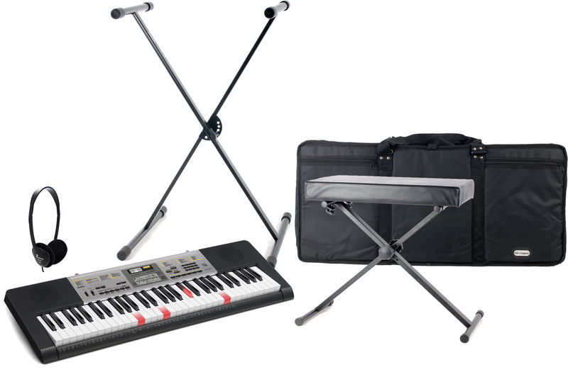 Casio LK-260 Deluxe Bundle