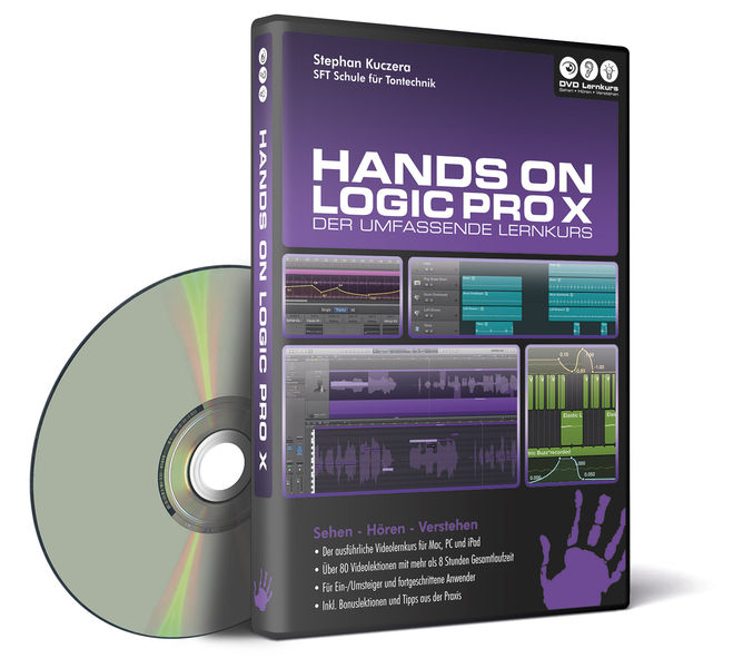 DVD Lernkurs Hands On Logic Pro X
