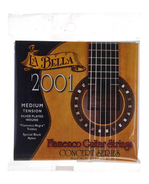 La Bella 2001 Flamenco Medium Tension