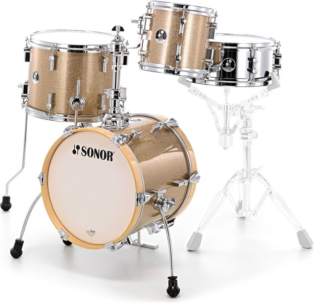 Sonor Martini Set Gold Sparkle
