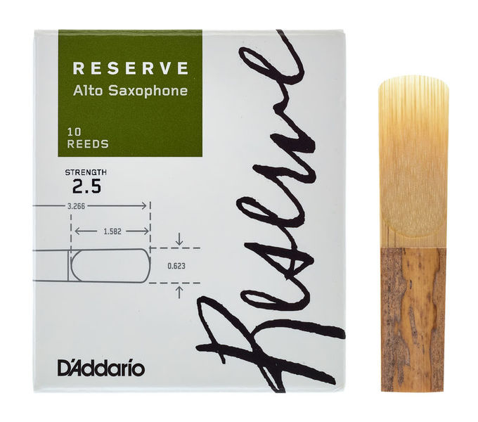 D'Addario Woodwinds Reserve Alto Sax 2,5