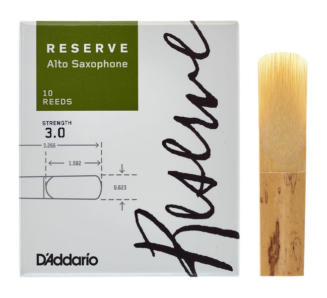 D'Addario Woodwinds Reserve Alto Sax 3,0