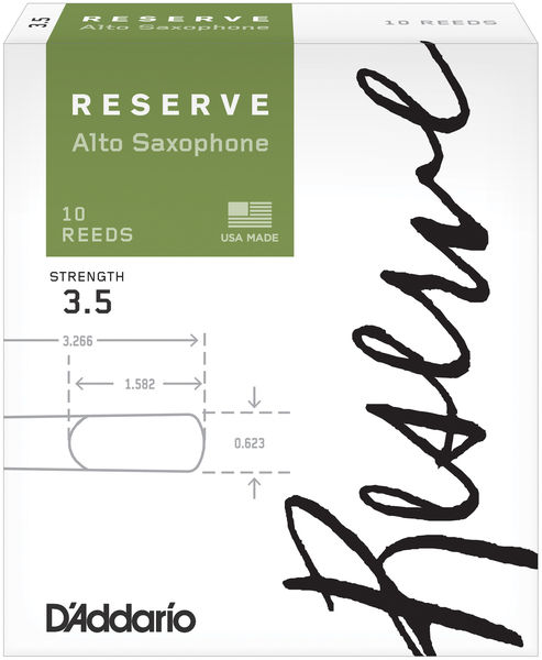 D'Addario Woodwinds Reserve Alto Sax 3,5