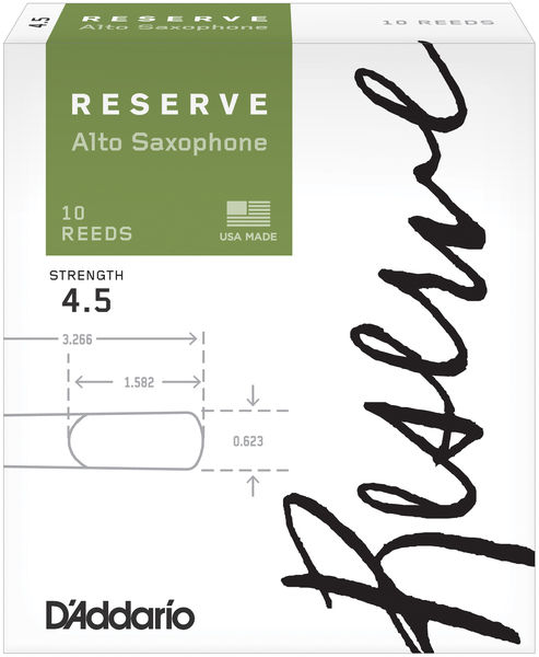 D'Addario Woodwinds Reserve Alto Sax 4,5