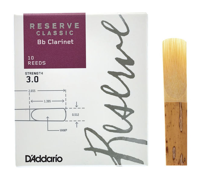 Reserve Clarinet Classic 3,0 Daddario Woodwinds