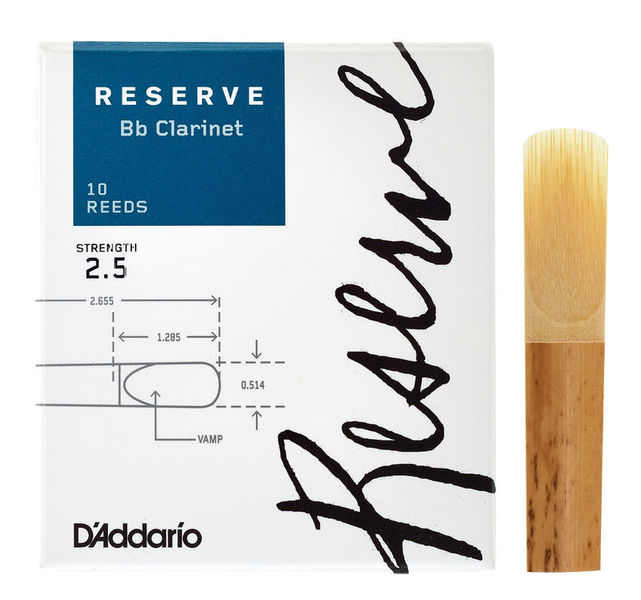 D'Addario Woodwinds Reserve Clarinet 2,5